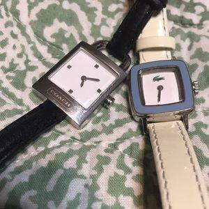 Coach & Lacoste Watch